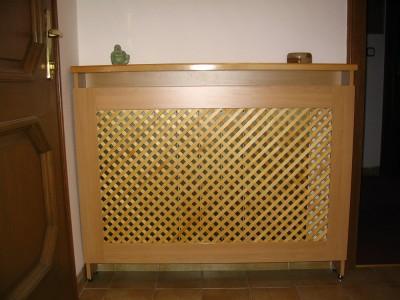 Kiegészítő bútor - Radiátor-borítás-apácarácsos