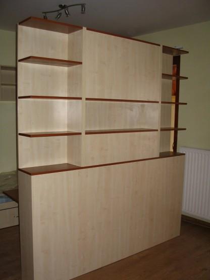 Térelválasztó szekrénysor