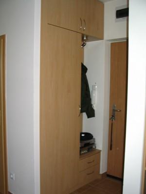 előszoba szekrény - bükk előszobabútor