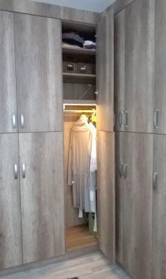 Canyon tölgy beépített hálószoba szekrénysor