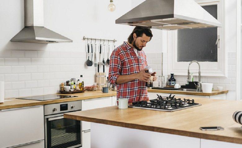 A legénylakás konyhája