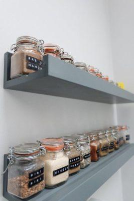 Fűszerpolc - rend a konyhában