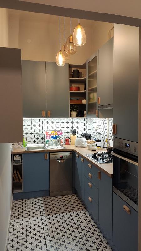 Elkészült a konyha beépítés
