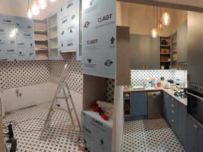 A konyhabeépítés folyamata