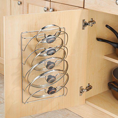 Ez a fedőtartó rács egyaránt felszerelhető a falra, vagy a szekrényajtóra.
